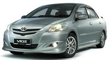 11-13 Hilux Vigo Vios Corolla Yaris Chrome outer door handle front passenger