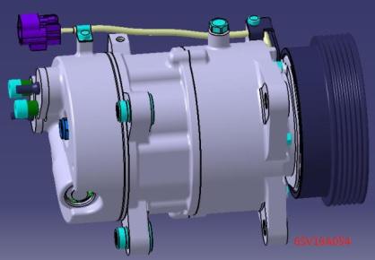 ACC24341                                  - TIGGO 5 14-                                  - A/C Compressor                                 ....210760