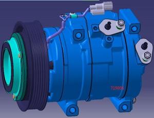 ACC24396                                  - FOUR ODYSSEY 08-14 2.4L                                  - A/C Compressor                                 ....210804