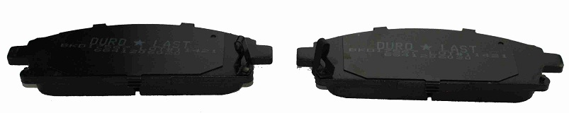 BKD17567(B)                                 - X-TRAIL 02-07,PATHFINDER R50 97-05,VANETTE 99-01,ELGRAND E50,E51 97-10                                 - Brake Pad                                 ....104003
