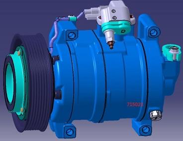 ACC24271                                  -  ODYSSEY V 15- 2.4L                                  - A/C Compressor                                 ....210705