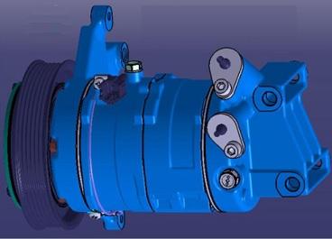 ACC24281                                  - [VQ23] MURANO/TEANA 03-08 2.5L                                  - A/C Compressor                                 ....210715