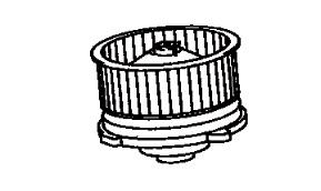 BLM76617                                  - [2TR-FE] COASTER TRB60 17-19                                  - Blower Motor                                 ....197864