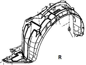 INF89912(R)                                 - [HR12DE] MARCH K13 10-                                 - Inner Fender                                 ....205592
