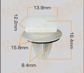 BUC85751                                  - MONTERO 97-06                                  - Bumper/fender Clip                                 ....200482