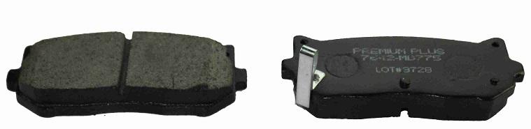BKD14815(OEM)                                 - SEPHIA 01-04, CARENS 03-06 FCFS                                 - Brake Pad                                 ....102496