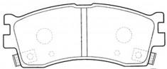 BKD18520(B)                                 - RIO 00-05                                 - Brake Pad                                 ....104560