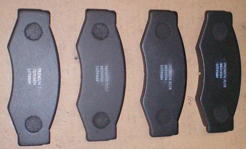BKD19534(B)                                 - CARAVAN E24 720/D21,VANETTE 94-01[1.6L、2.3L]                                 - Brake Pad                                 ....105297
