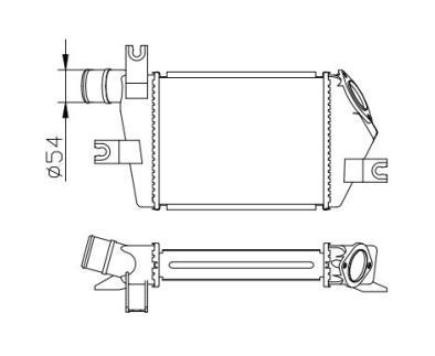 INC21016                                  - TRITON L200 07                                  - Intercooler                                 ....124574