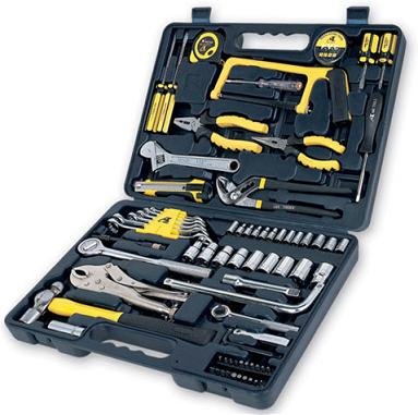 TOO26566                                  - 80PCS SET [FOR MECHANICAL USE :WRENCH,SAWS,PLIERS][MATERIAL:ACERO AL CROMO VANADIO]                                  - Tool                                 ....110565