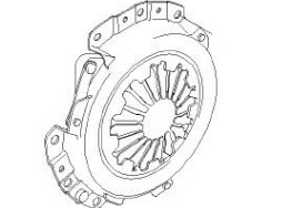 CLC30274                                  - SPARK 2003,SPARK GT 2010                                  - Clutch Cover                                 ....112145