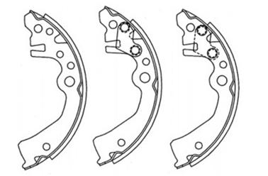 BKS41251                                 - CUBE/MARCH K12 02-08                                 - Brake Shoe                                 ....130801