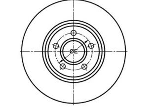 BRO43536 - FOCUS II 04-,III 11- 1.6L [OD=300] ,ESCAPE 2013-...136519