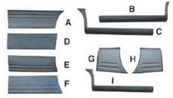 BDS47789                                  - H1 02-04(FOR 7 SEATS)                                  - Body strip                                 ....141862