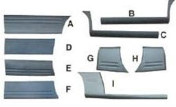 BDS47790                                  - H1 02-04(FOR 9 SEATS)                                  - Body strip                                 ....141863