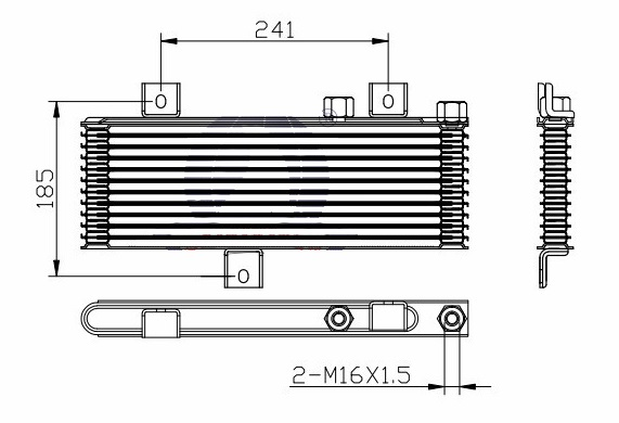 OIC48602                                  - 4M40                                  - Oil Cooler                                  ....189110
