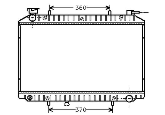RAD51297(16MM)                                 - VANETTE HC23 96-15                                 - Radiator                                 ....146425