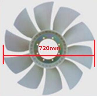RFB54269                                  - FR390/SH420 04-                                  - Radiator Fan Blade                                 ....150675