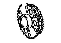 CSG57967                                  - HILUX 88-09,4RUNNER 95-02,TACOMA 95-04,HIACE 95-11,DYNA 88-,LAND CRUISER 96-10,COASTER 93-16                                  - Crankshaft gear                                 ....191964