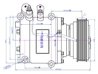 ACC58487                                  - PRELUDE 97-01                                  - A/C Compressor                                 ....192428