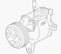 ACC58830                                  - IMPREZA V 2016-2019 FB20 GK6,GK7,GT,G14                                   - A/C Compressor                                 ....192677
