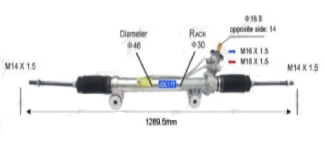 STG59383(LHD)                                  - SILVERADO 99-07,                                  - Rack & Pinon                                 ....193274