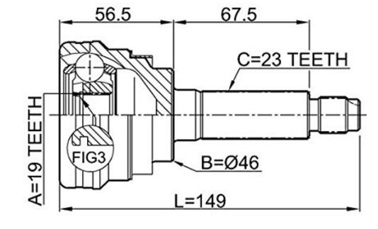 CVJ63137                                  - MATIZ 05-                                  - CV Joint                                 ....161588