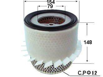 AIF64022                                 - BONGO 97-99 WL,R2 J100 ,J80 NS VANETTE R2 94-99,DELICA 99-04                                  - Air Filter                                 ....162996