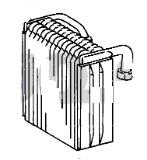 ACE65091                                  - SIENNA 97-02 Ⅰ 1MZ-FE LE FACELIFT                                  - Evaporator                                 ....193723