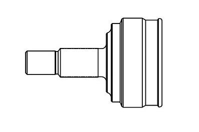 CVJ65631                                  - AVEO 04-16 L4-1.6L                                  - CV Joint                                 ....165148