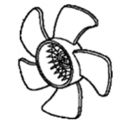 RFB66253                                  - CIVIC'06-11 2.0L, 2.4L                                  - Radiator Fan Blade                                 ....165867