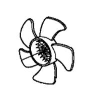 RFB66254                                  - ACCORD 08-10 4 CYL.                                   - Radiator Fan Blade                                 ....165868