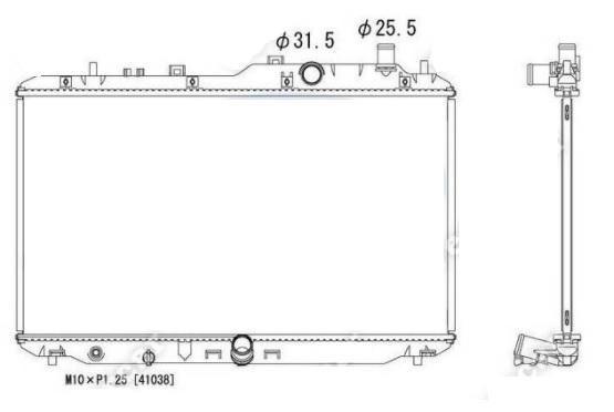 RAD68008(16MM) - HR-V VEZEL 13-...167969