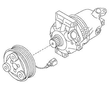 ACC68075                                  - NV200 2015-M20  HR16DE  JAPAN                                   - A/C Compressor                                 ....168039