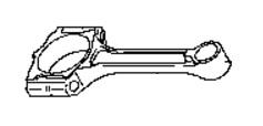 COR68092                                 - NV200 2015-M20  HR16DE  JAPAN                                  - Connecting Rod                                 ....168058