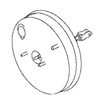PBB68134                                 - NV200 2015-M20  HR16DE  JAPAN                                 - Brake Booster                                 ....168104