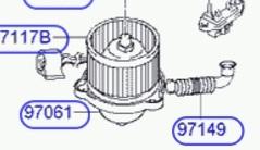 BLM69100                                  - H1 STAREX 2005-2007                                  - Blower Motor                                 ....169435