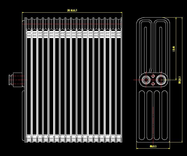 ACE69432                                  - CHANGAN 12-                                   - Evaporator                                 ....169905