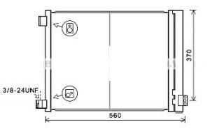 ACD70722(16MM)                                 - VERA 13[HR12DE],MICRA 10-18                                 - Condenser                                 ....171595