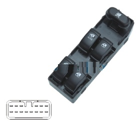 PWS71378                                  - EXCELLE 10-13                                  - Power Window Regulator                                 ....172319