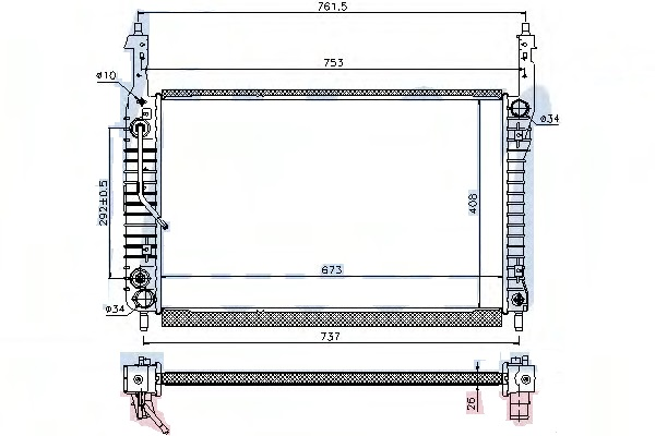 RAD72678(26MM)                                  - CAPTIVA 06-                                  - Radiator                                 ....173928