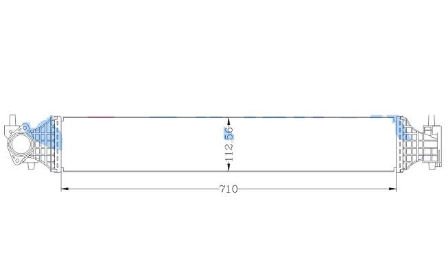INC78463                                  - CR-V 17- [1.5T]                                  - Intercooler                                 ....181420