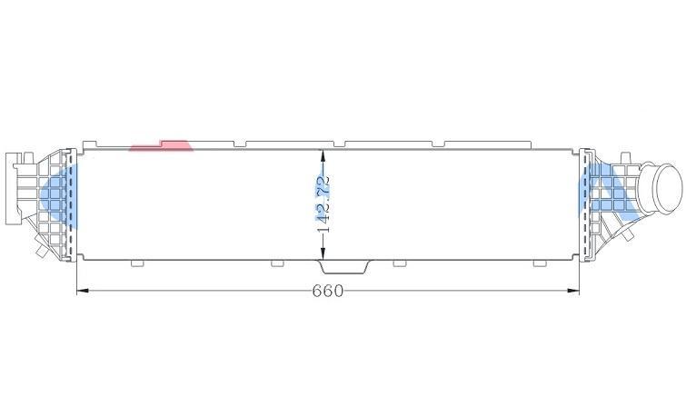 INC78464                                  - AVANCIER 17-,UR-V 17- [1.5T]                                  - Intercooler                                 ....181421