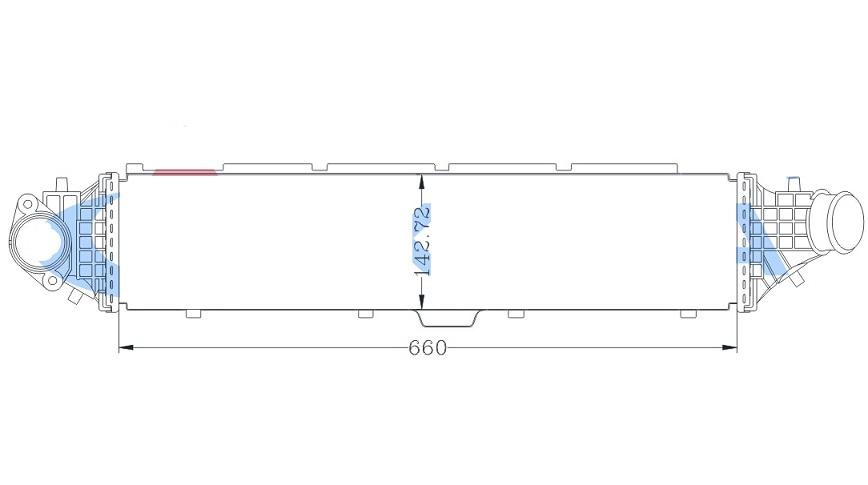INC78465                                  - AVANCIER 17-,UR-V 17- [2.0T]                                  - Intercooler                                 ....181422