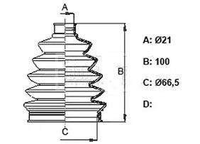 CVB81388                                  - SPARK (M300)  10-                                  - CV Joint Boot                                 ....185302
