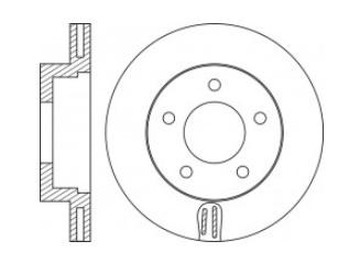 BRO82783                                 - VANETTE VAN TRUCK 99-17, DELICA 02-07, MZ BONGO 99-10                                 - Brake Rotor                                 ....187122