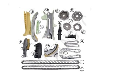 TCK84100                                  - EXPLORER 97-10/RANGER 01-02[1KIT]                                  - Timing Chain Repair kit                                 ....188764